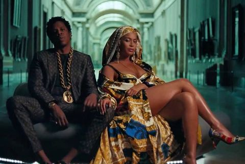 beyonce, the carters, jay z, versace