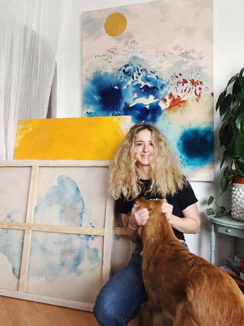Artist Emma Howell