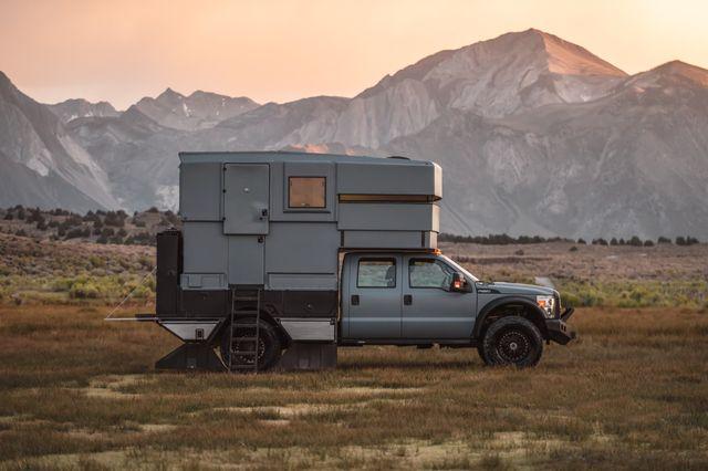 ford f 550 overlanding camper for sale