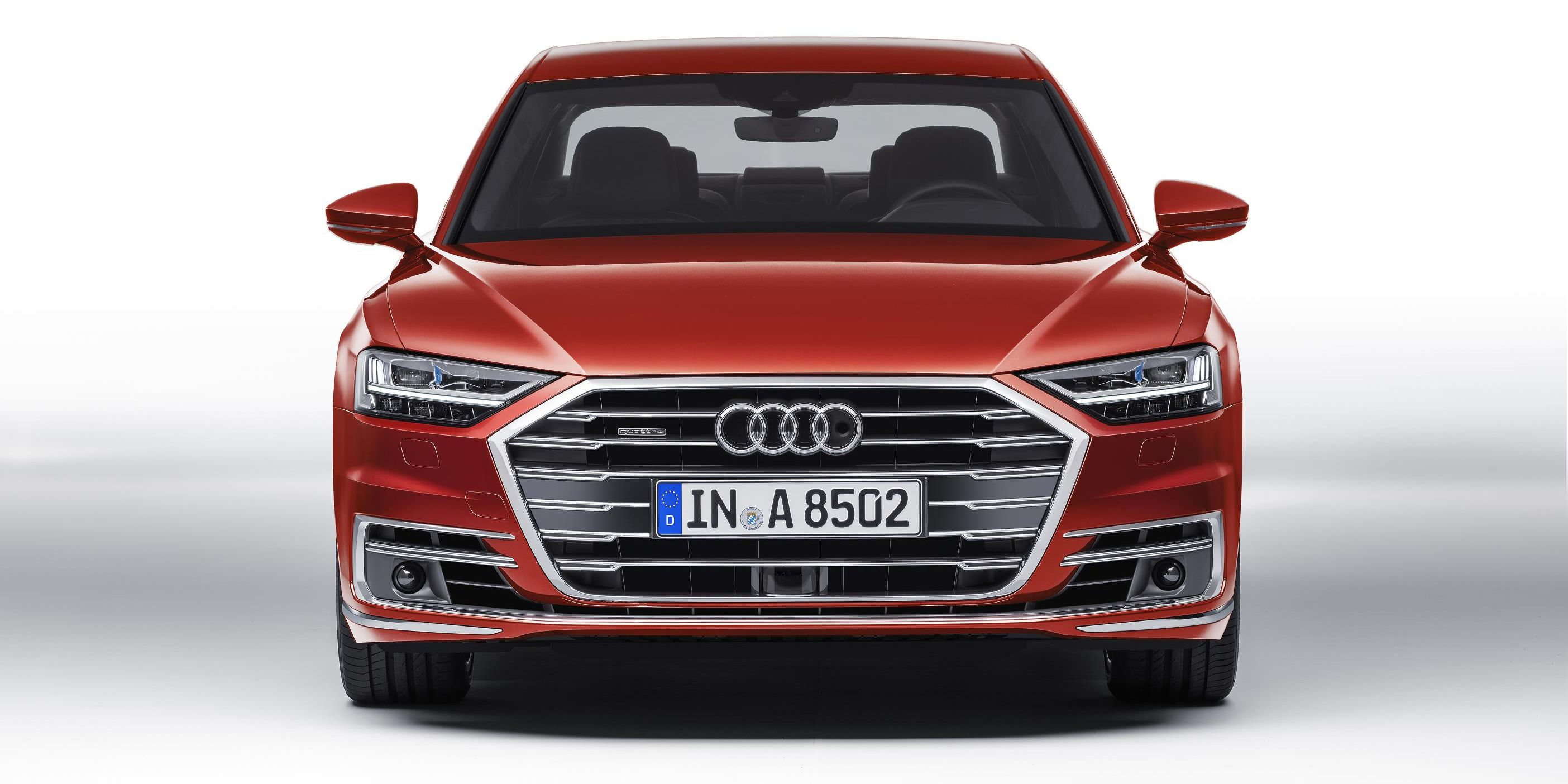 face the new audi a8