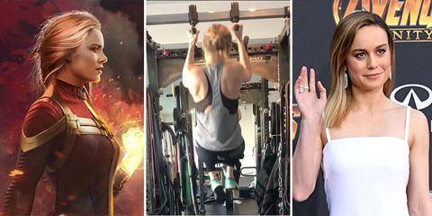 復仇者聯盟,驚奇隊長,Brie Larson布麗拉森,漫威宇宙,超級女英雄,健身訓練,beauty