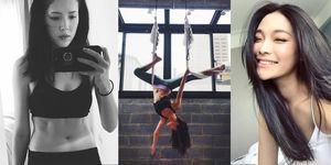 健身,皮拉提斯,腹部,腿部,臀部,訓練,許瑋甯,Kate Lin