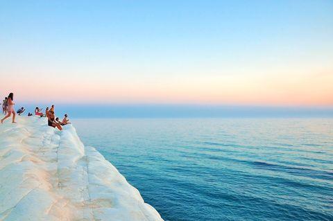 Sky, Body of water, Sea, Horizon, Blue, Ocean, Water, Coast, Beach, Shore,