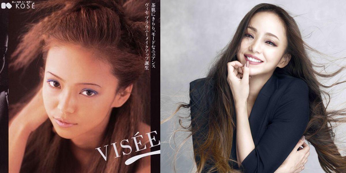 安室奈美惠,引退,Visée,廣告,容貌.高絲