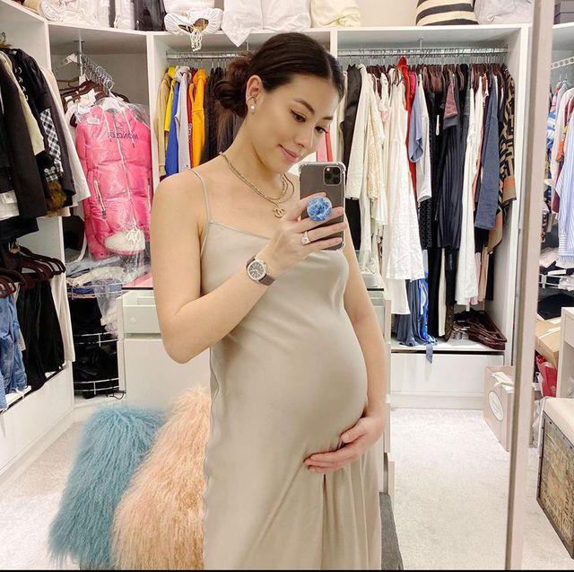 最美孕婦蔡詩芸,公開孕期保養清單!聽媽媽話靠這瓶用到空的「美容油」對付妊娠紋~