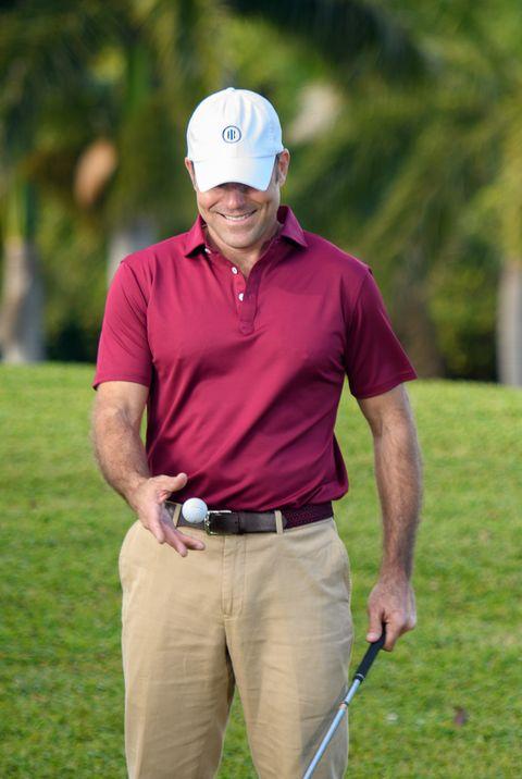 Golf, Golfer, Golf course, Professional golfer, Iron, Golf equipment, Sport venue, Fourball, Pitch and putt, Golf club,
