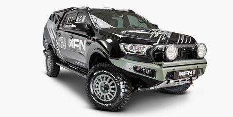 Ford SEMA Custom Builds Include Wild and Off-Road-Ready Rangers