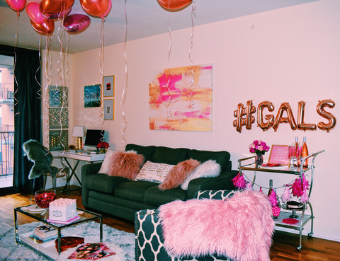 How to Throw a Galentine\'s Day Party - Valentine\'s Day Party Ideas