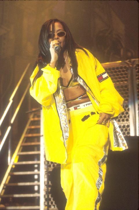 Aaliyah en el foro