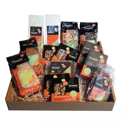 pakket met voedingsproducten van smaakt