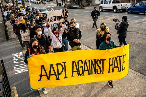 aapi anti asian hate rally
