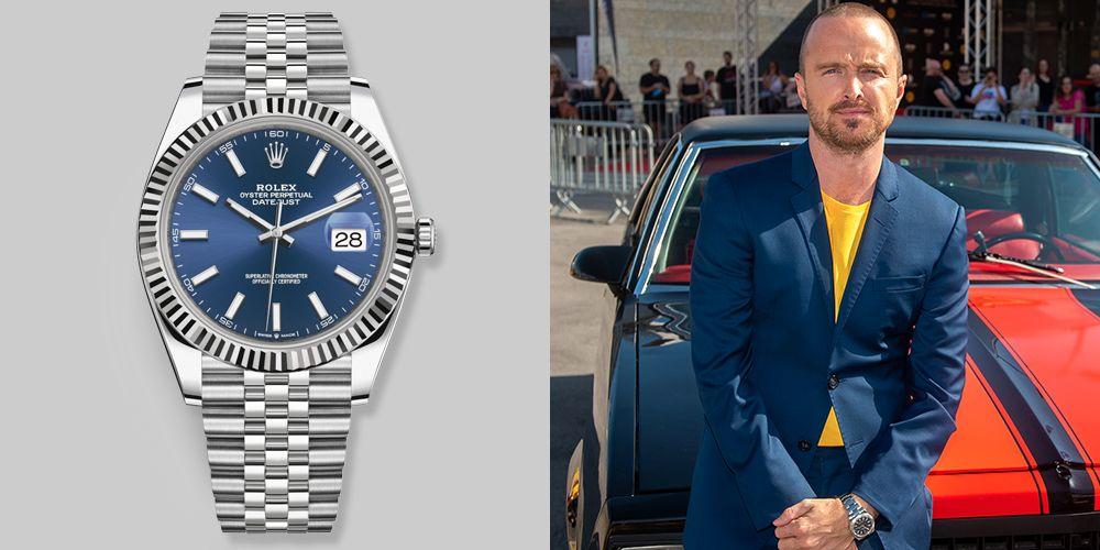 Aaron Paul's Watch Has Presidential Potential
