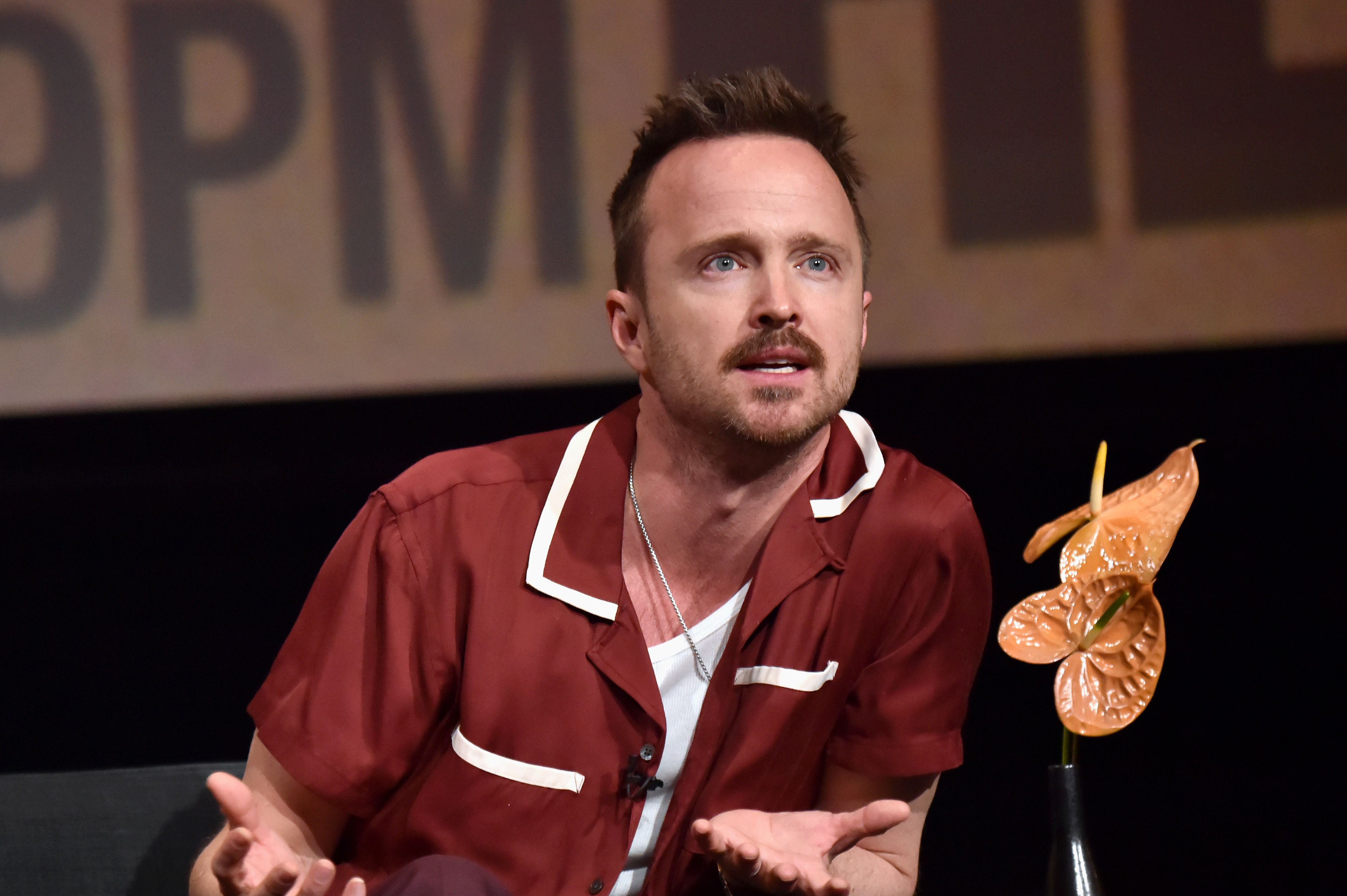 Aaron Paul Is Interested in Playing Late Rock Star Kurt Cobain in the Movie of His Life