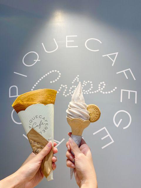 日本人氣可麗餅gelato pique café金沙芋泥可麗餅
