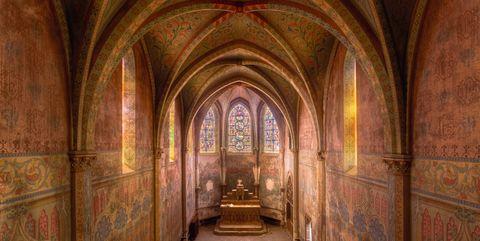 abandoned churches france