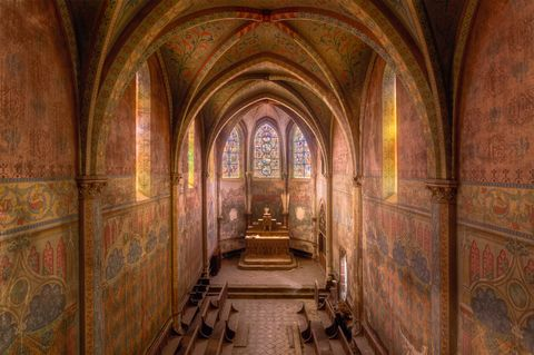 abandoned churches france