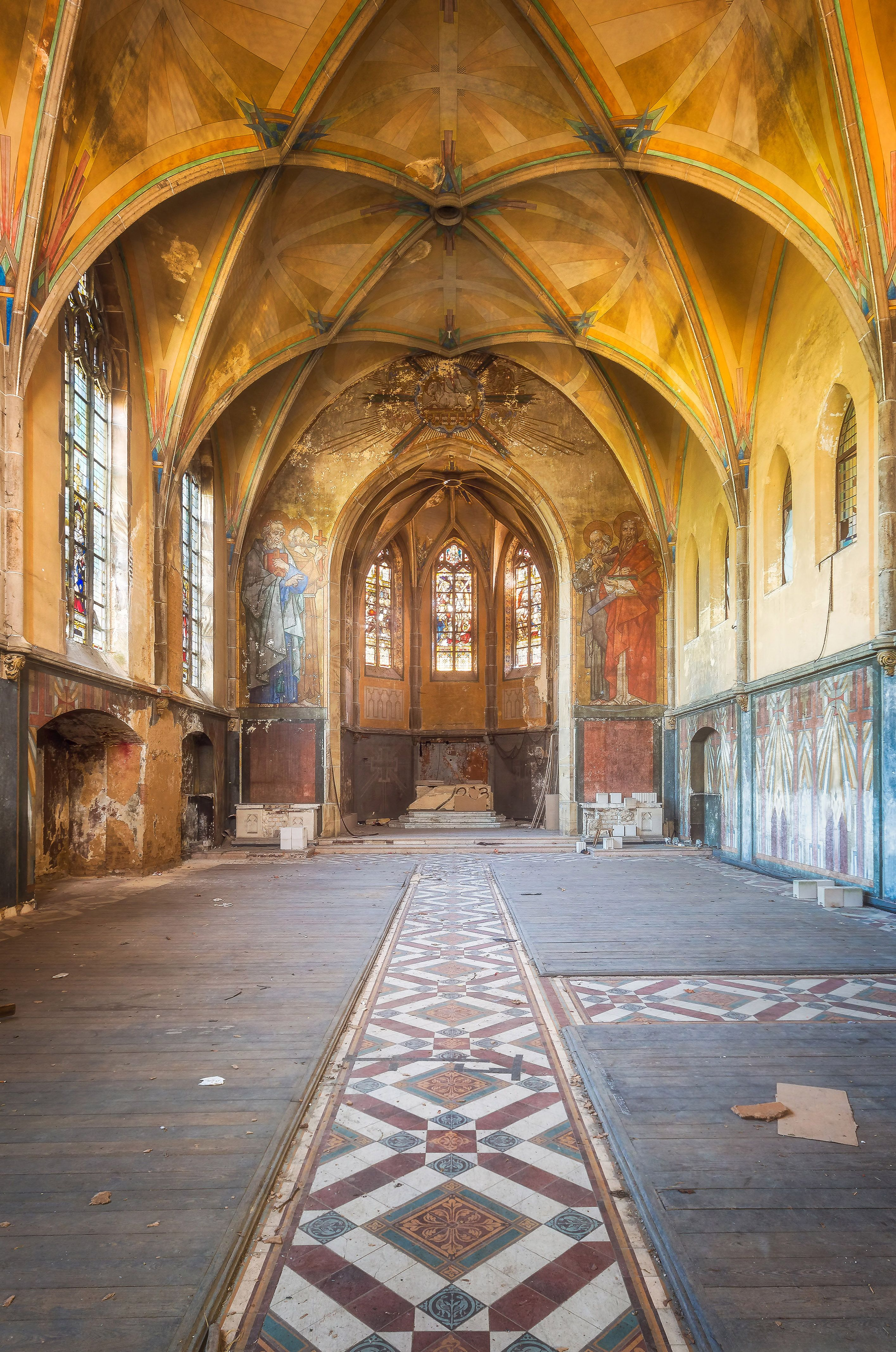 abandoned churches germany