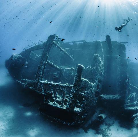 abandoned shipwreck
