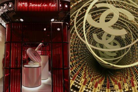 香奈兒,紅色工場,ChanelLeRougePopUp,唇膏實驗室,紅色酒吧,呼叫小香控,beauty