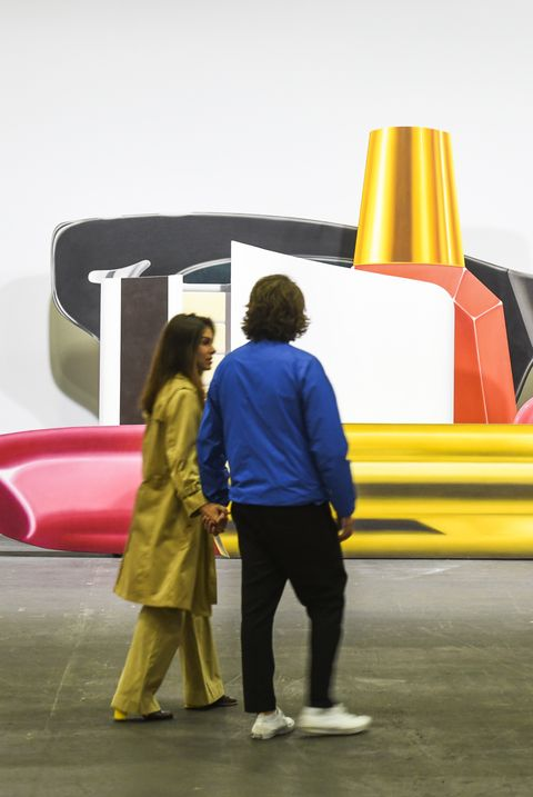 gagosian gallery at art basel