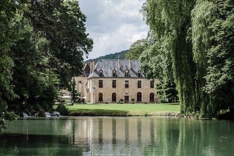 Abbaye de la Bussiere, Dijon, France photo