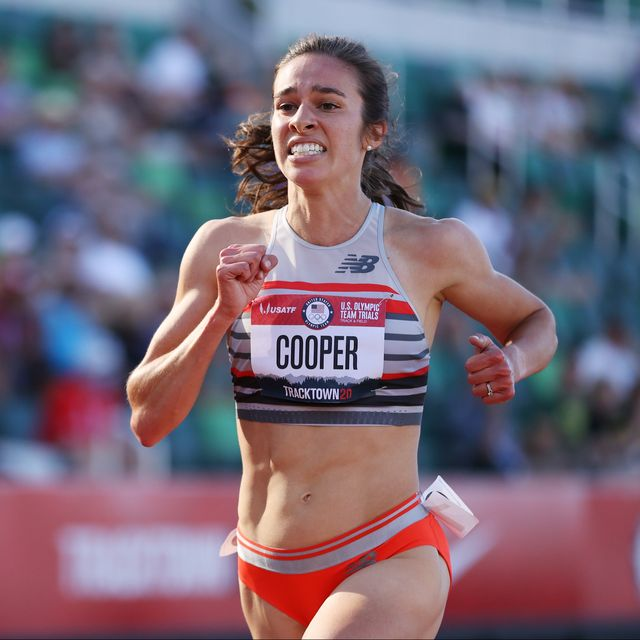 2021 Olympic Trials - Abbey Cooper Hits the 5,000-Meter Olympic Standard