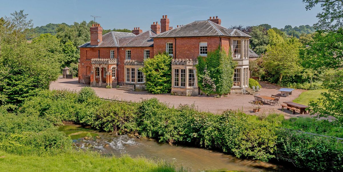 Former 18th Century Herefordshire Coaching Inn With Magical Gardens For Sale Abbey Dore Court