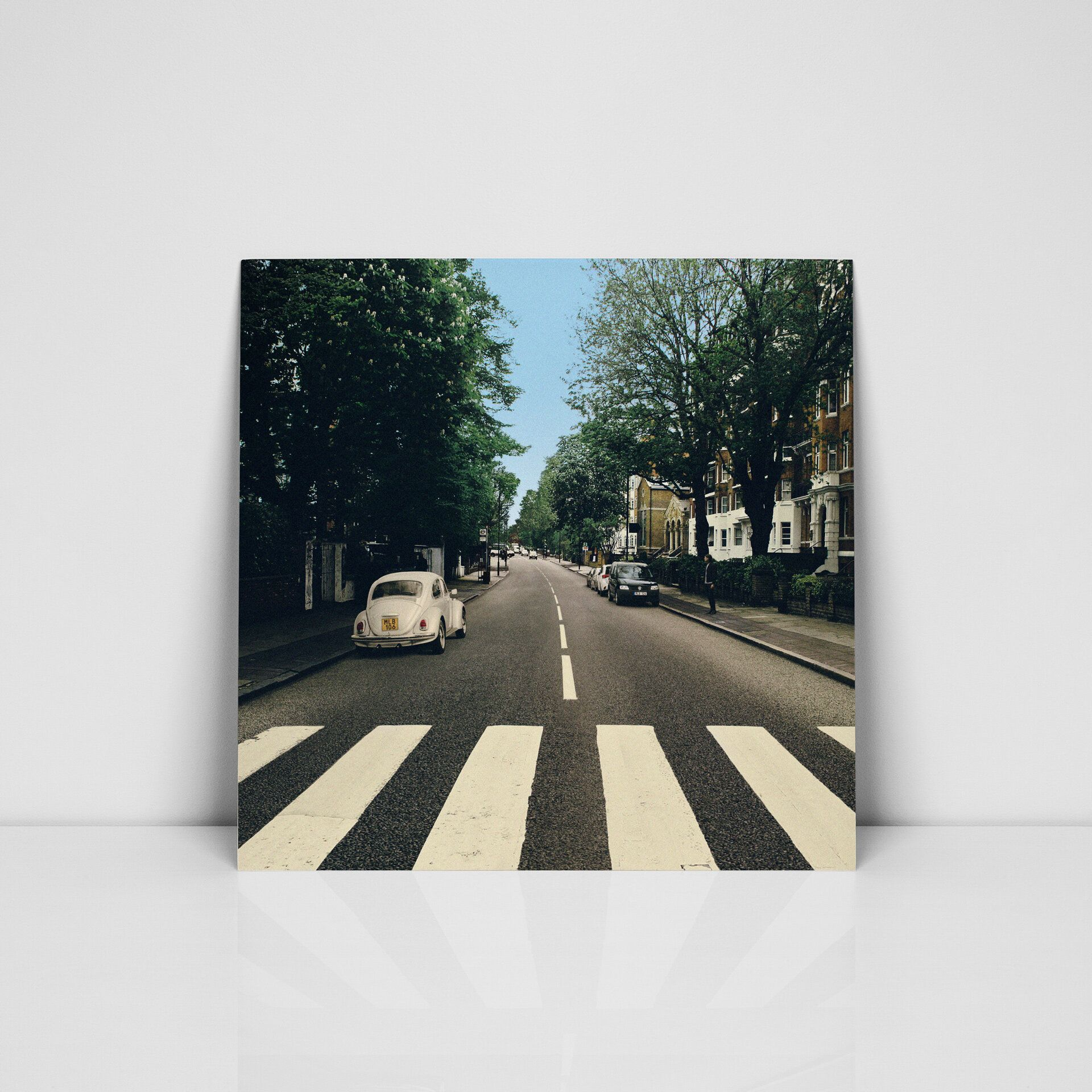 Volkswagen Photoshops Beatles Out Of Abbey Road Cover Moves Vw Beetle