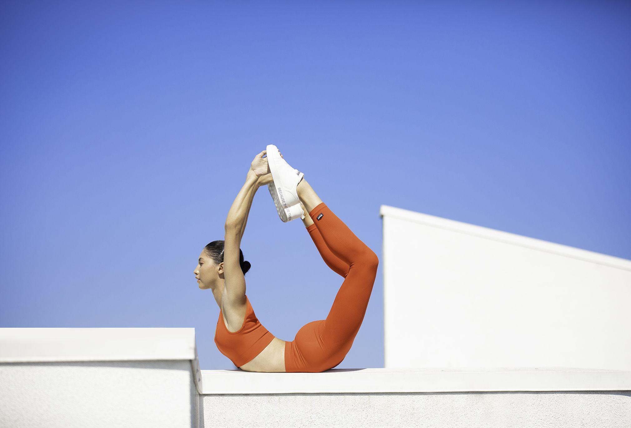 Abbigliamento sportivo moda autunno 2019, yoga e running