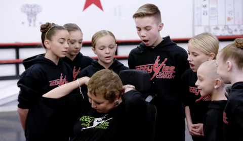 Abby Lee Miller Shows Her Cancer Scars
