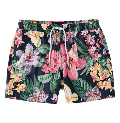 Clothing, board short, Shorts, Active shorts, Trunks, Plant, Flower, Bermuda shorts,