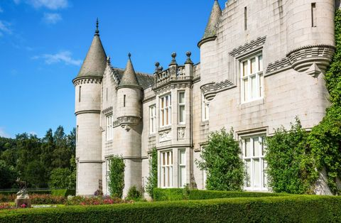 aberdeenshire scotland the balmoral castle summer residence of the british royal family