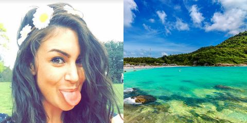 A British backpacker has died in a hotel room in Thailand after having a row with her boyfriend