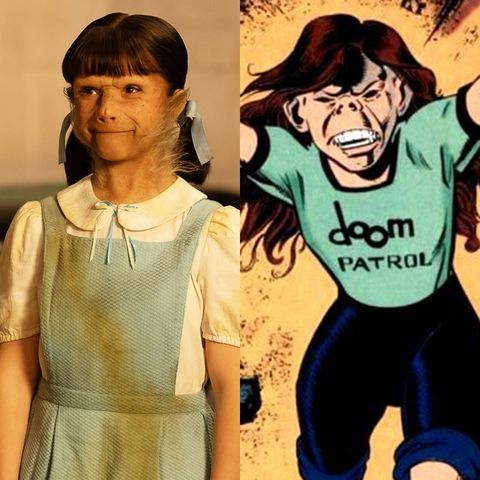 doom patrol cast little girl