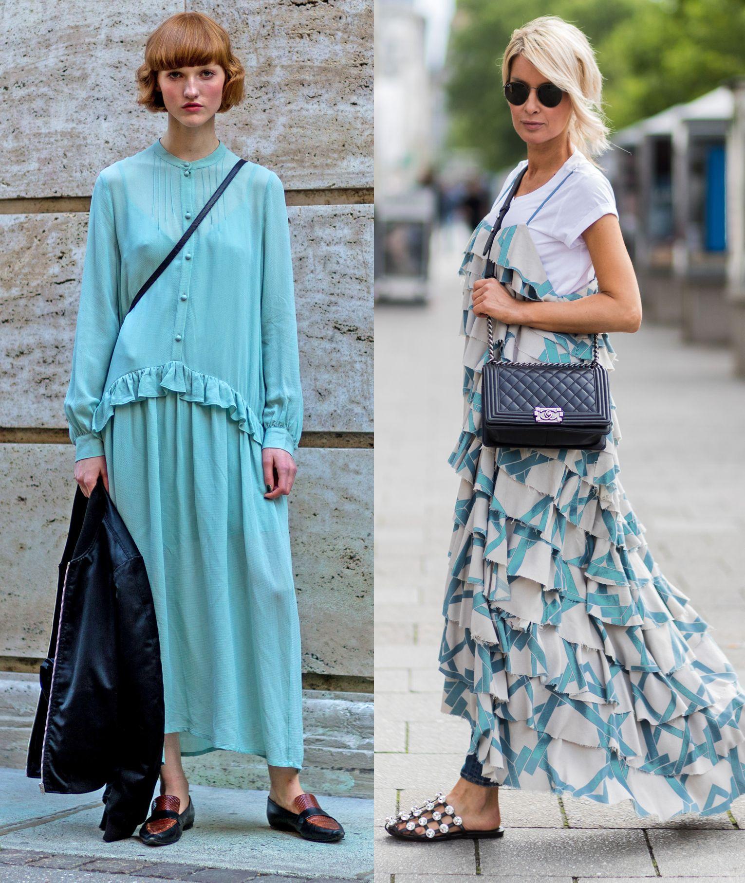 L\u0027abito lungo lo puoi indossare da mattina a sera, basta scegliere il  vestito