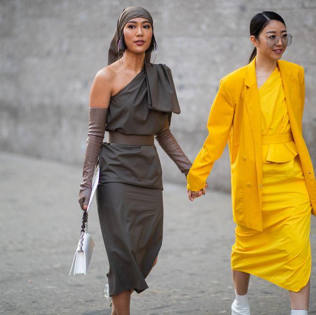 best authentic ec0b5 2d638 Spoiler: l'abito monospalla è pura moda estate 2019