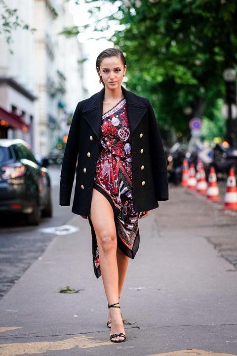 Street fashion, Clothing, Fashion, Photograph, Fashion model, Outerwear, Snapshot, Beauty, Street, Footwear,