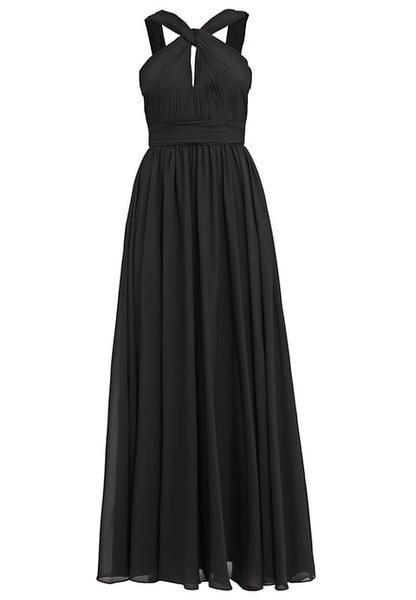 vestito nero per adolescenti