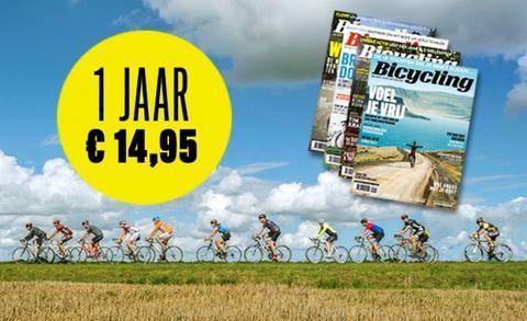 Bicycling, abonnement, fietsen