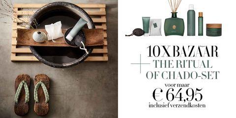 Nu 10x Harpers Bazaar The Ritual Of Chado Set Twv