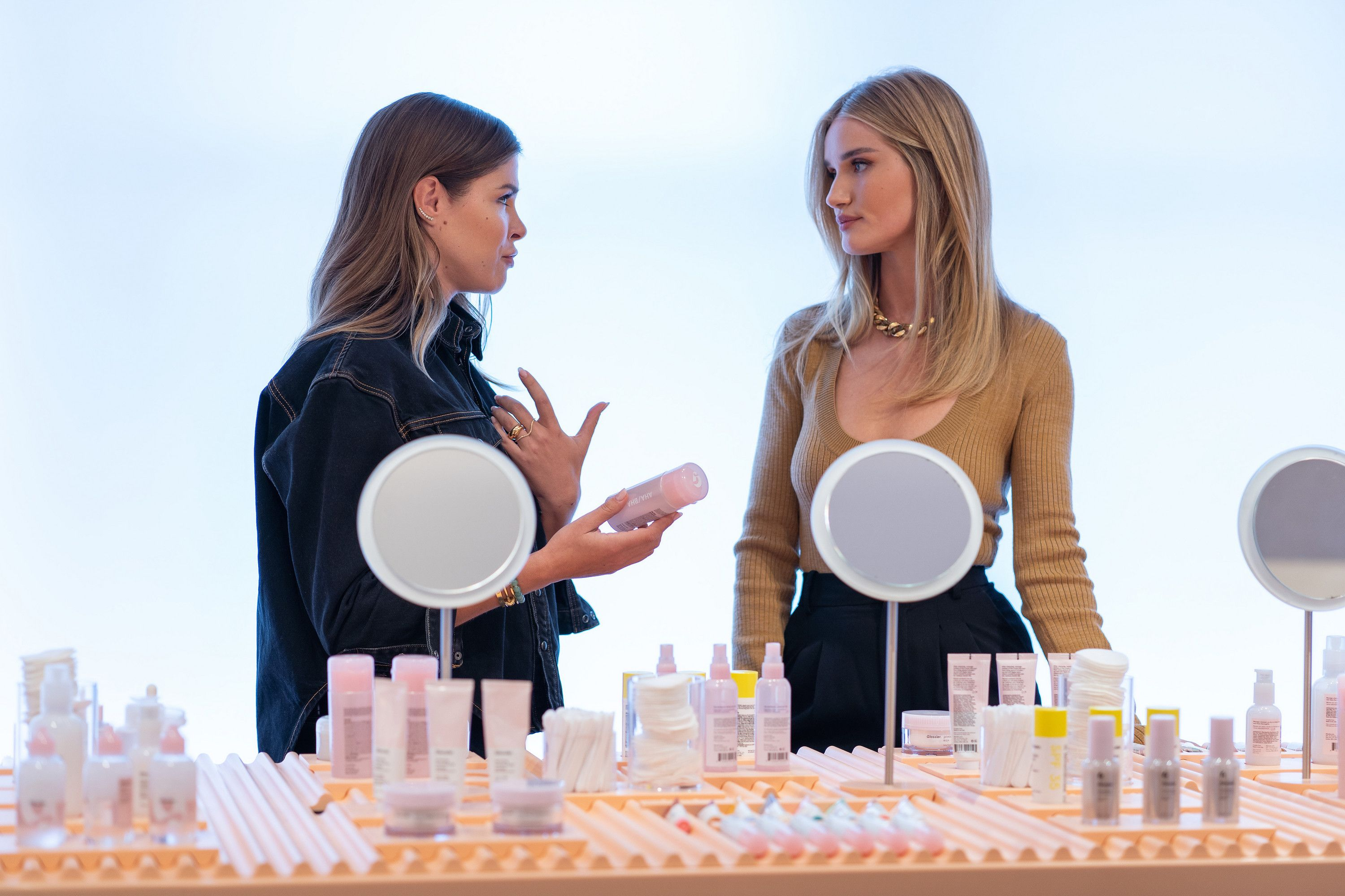 Everything You Need To Know About Rosie Huntington-Whiteley's New Beauty Series 'About Face'