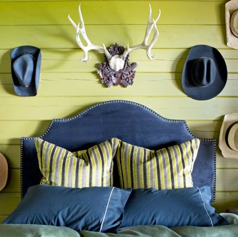 above bed decor brian patrick flynn resin taxidermy hats