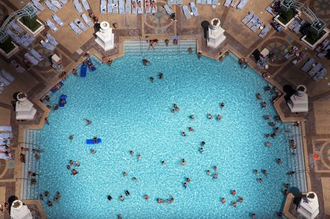CDC Warns That If A Pool Smells Like Strong Chlorine It Might Have
