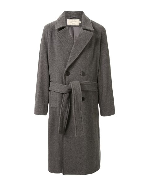 Clothing, Coat, Overcoat, Outerwear, Trench coat, Sleeve, Collar, Robe, Duster, Jacket,