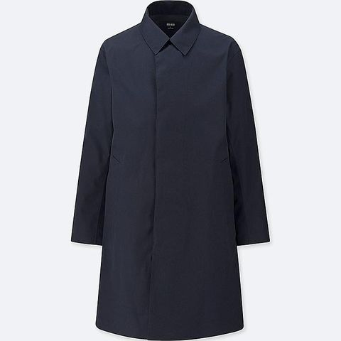 abrigo hombre uniqlo