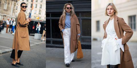 c91a2a5ed63 ¿Cómo llevar bien un abrigo camel  - Las mejores formas de llevar el abrigo  camel según el  street style