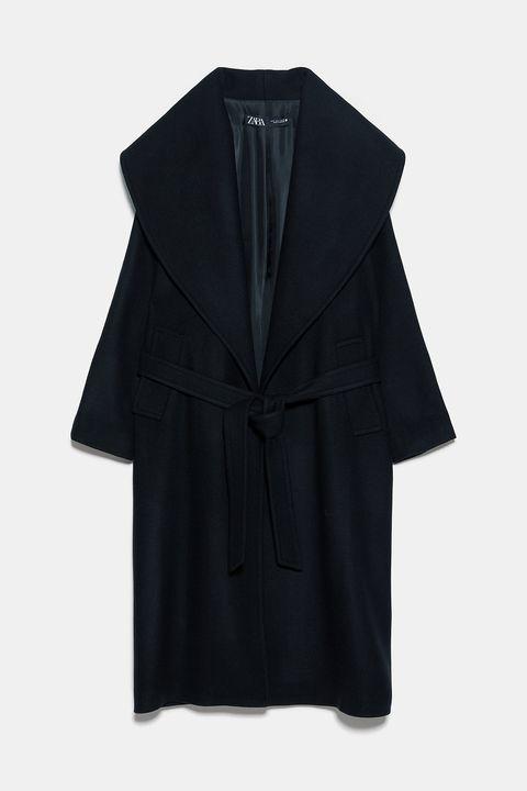 Clothing, Black, Outerwear, Coat, Sleeve, Collar, Robe, Overcoat, Jacket, Costume,