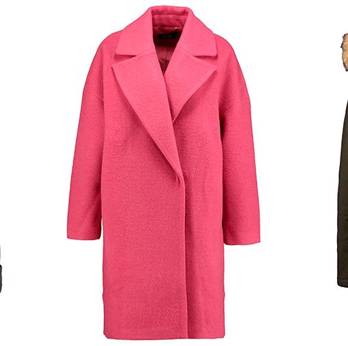 Moda, prendas de abrigo en rebajas