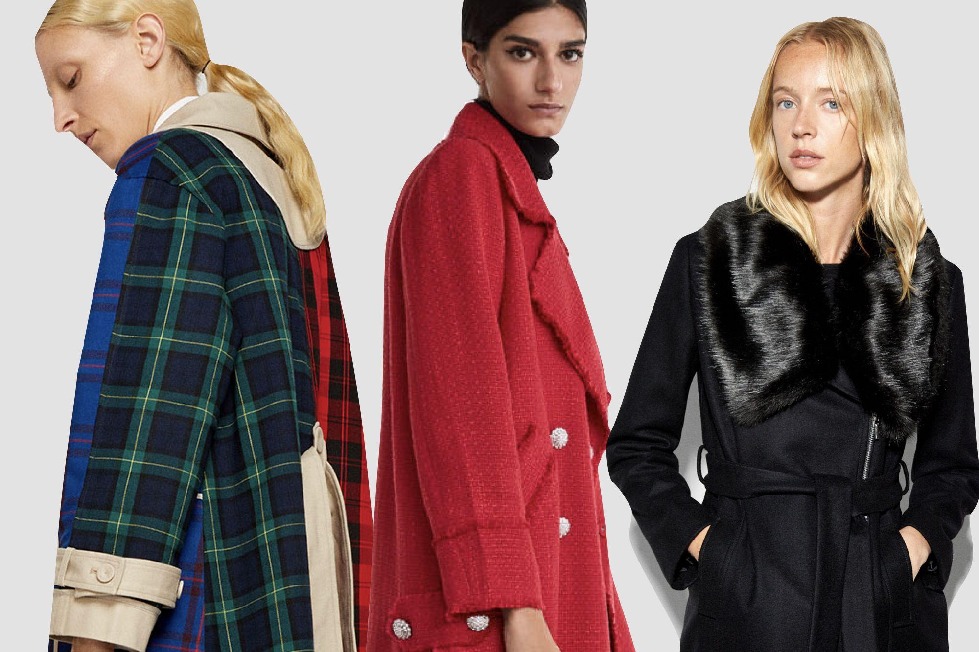 10 jerséis y abrigos de Zara y Stradivarius que se