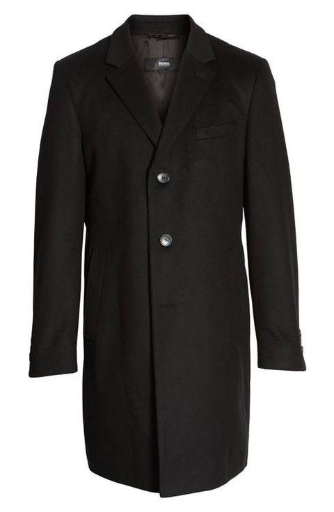 Abrigo clásico de hombre de Boss